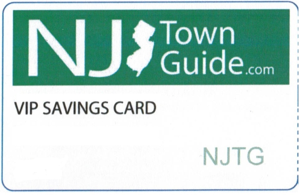 NJTownGuide VIP Savings Card